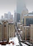 Opinión de la ciudad de Boston Fotografía de archivo libre de regalías