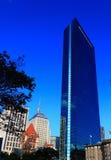 Opinión de la ciudad de Boston imagen de archivo
