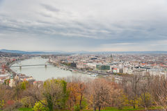 Opinión de la ciudad de Budapest Foto de archivo