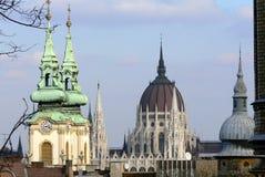 Opinión de la ciudad de Budapest Fotografía de archivo libre de regalías
