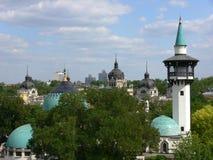 Opinión de la ciudad de Budapest Fotografía de archivo