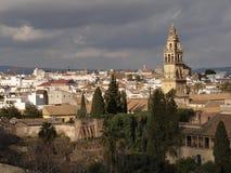 Opinión de la ciudad de Córdoba imagen de archivo