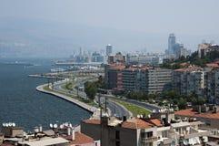 Opinión de la ciudad de Esmirna Foto de archivo libre de regalías