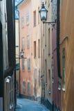 Opinión de la ciudad de Estocolmo imagen de archivo libre de regalías