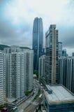 Opinión de la ciudad de Hong-Kong Foto de archivo