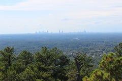 Opinión de la ciudad de la montaña Imagen de archivo