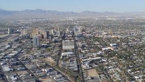 Opinión de la ciudad de Las Vegas Imágenes de archivo libres de regalías