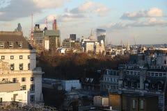 Opinión de la ciudad de Londres foto de archivo