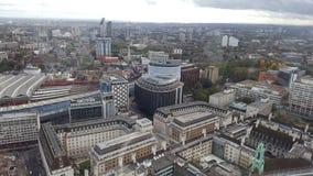 Opinión de la ciudad de Londres Imágenes de archivo libres de regalías