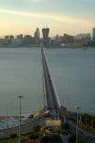 Opinión de la ciudad de Macau Imágenes de archivo libres de regalías