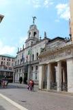 Opinión de la ciudad de Padua, Italia Foto de archivo libre de regalías