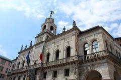 Opinión de la ciudad de Padua, Italia Imagen de archivo
