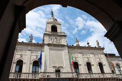 Opinión de la ciudad de Padua, Italia Imágenes de archivo libres de regalías