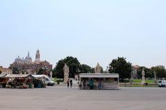 Opinión de la ciudad de Padua, Italia Fotos de archivo libres de regalías