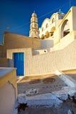 Opinión de la ciudad de Pirgos (Pyrgos) Fotos de archivo