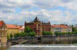 Opinión de la ciudad de Praga Fotografía de archivo libre de regalías