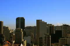 Opinión de la ciudad de Rio de Janeiro Foto de archivo libre de regalías