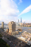 Opinión de la ciudad de Shangai Foto de archivo