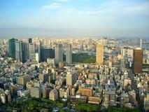 Opinión de la ciudad de Tokio imagen de archivo libre de regalías