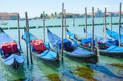 Opinión de la ciudad de Venecia en Italia Fotografía de archivo