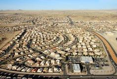 Opinión de la ciudad del mabove Imagenes de archivo