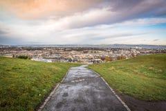 Opinión de la ciudad de Edimburgo imágenes de archivo libres de regalías