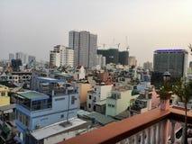 Opinión de la ciudad de Ho Chi Minh imágenes de archivo libres de regalías