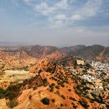 Opinión de la ciudad de Jaipur fotos de archivo