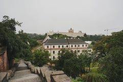 Opinión de la ciudad de Lublin imagen de archivo libre de regalías