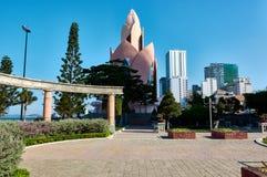 Opinión de la ciudad de Nha Trang, Vietnam imagen de archivo