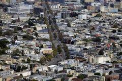 Opinión de la ciudad de San Francisco Imágenes de archivo libres de regalías