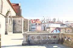 Opinión de la ciudad sobre Oporto de la iglesia de St Francis portugal Fotografía de archivo
