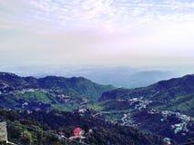 Opinión de la colina Imagen de archivo libre de regalías