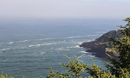 Opinión de la costa de Oregon Imagenes de archivo