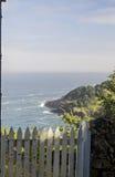 Opinión de la costa de Oregon Imágenes de archivo libres de regalías