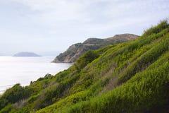 Opinión de la costa - isla de Zakynthos Fotos de archivo libres de regalías