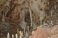Opinión de la cueva Fotos de archivo libres de regalías