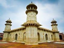 Opinión de la esquina de Taj del bebé Foto de archivo
