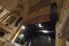Opinión de la etapa del teatro Fotos de archivo