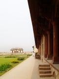 Opinión de la fortaleza de Lahore Imagen de archivo libre de regalías