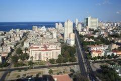 Opinión de La Habana de un edificio alto (iii) Fotos de archivo