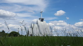 Opinión de la iglesia Foto de archivo libre de regalías