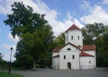 Opinión de la iglesia del palacio de Zugdidi Dadiani fotos de archivo