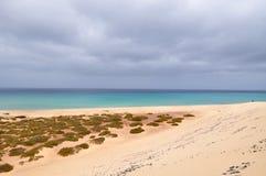 Opinión de la isla de Fuerteventura Fotos de archivo libres de regalías