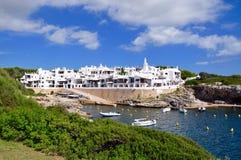 Opinión de la isla de Menorca Fotografía de archivo libre de regalías