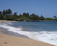 Opinión de la línea de la playa de Maui Imágenes de archivo libres de regalías