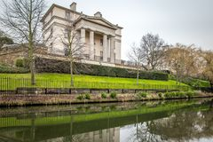 Opinión de la mañana del canal de los regentes, Londres Imagen de archivo libre de regalías