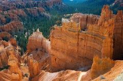 Opinión de la madrugada del punto de la puesta del sol en Bryce Canyon National Park, UT imágenes de archivo libres de regalías