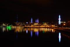 Opinión de la noche Imagenes de archivo