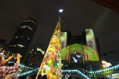 Opinión de la noche Fotos de archivo libres de regalías